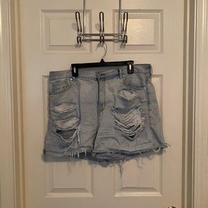 american eagle shorts size 16